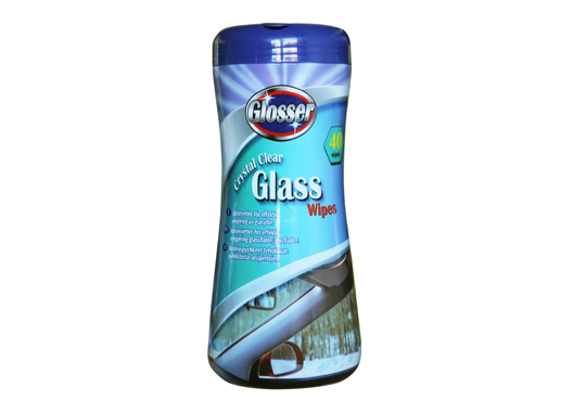 Glosser Vatservetter Glass Wipes