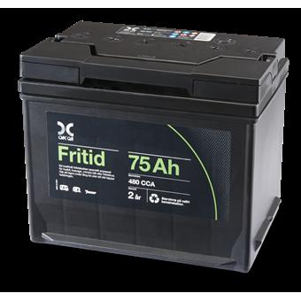 OKQ8 Kraft Fritidsbatteri 75 Ah