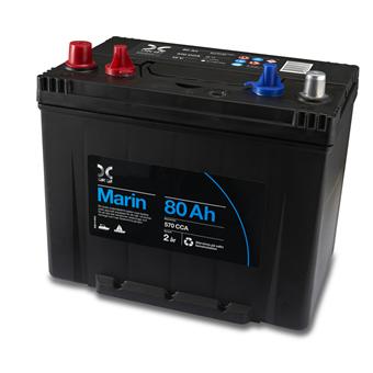 OKQ8 Marin Batteri 80Ah