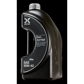 OKQ8 Delsyntet SAE 10W 40 4 liter