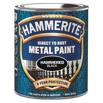 Hammerite Hammarlack Svart 250 ml