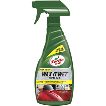 Turtle Wax It Wet Spray Wax 500 ml