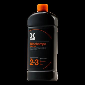OKQ8 Bilschampo med vax 1L