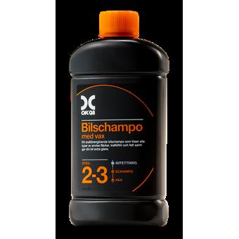 OKQ8 Bilschampo med vax 500ML