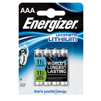 Energizer Ultimate Lithium AA Batterier